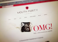 Mouth Party Caramels Website