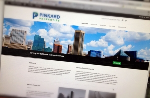 Pinkard Properties Website Design by Graphic Essentials