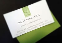 Brand Identity for Julia Brand, DDS