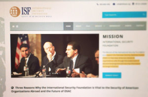 International Security Foundation Website Design