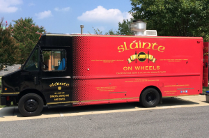 Slainte Irish Pub Food Truck Design by Graphic Essentials